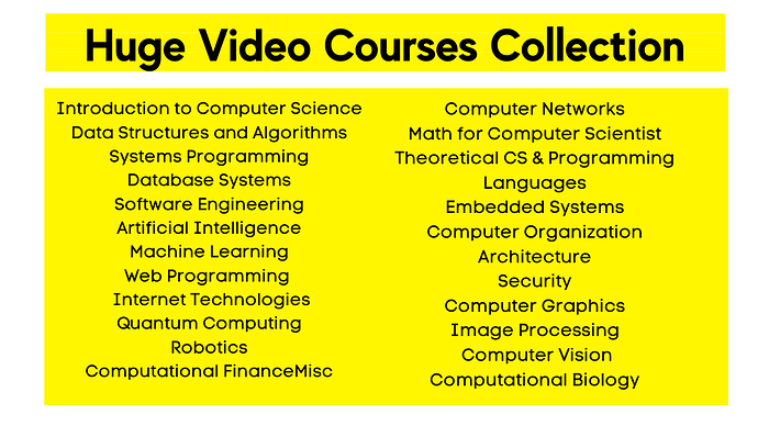Huge Video Courses Collection