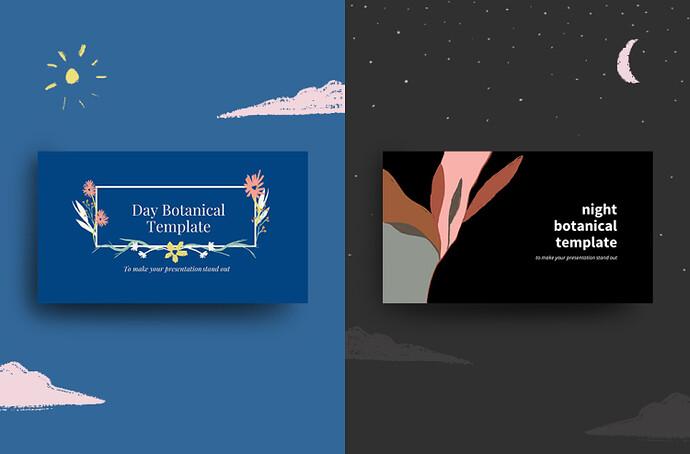 Botanical PowerPoint Templates
