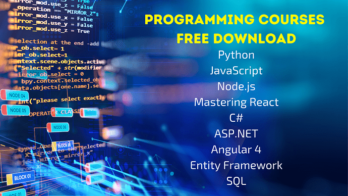 Programming Courses Free Download