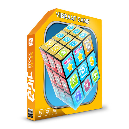Vibrant Game Box