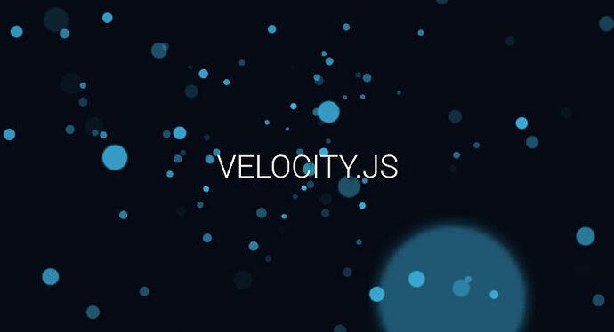 svg velocity