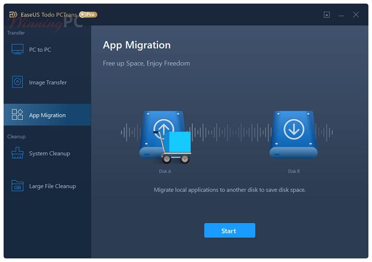 EaseUS-Todo-PCTrans-Pro-App-Migration