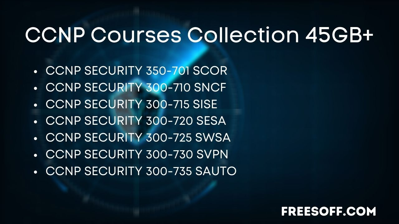 CCNP Courses Collection 45GB+